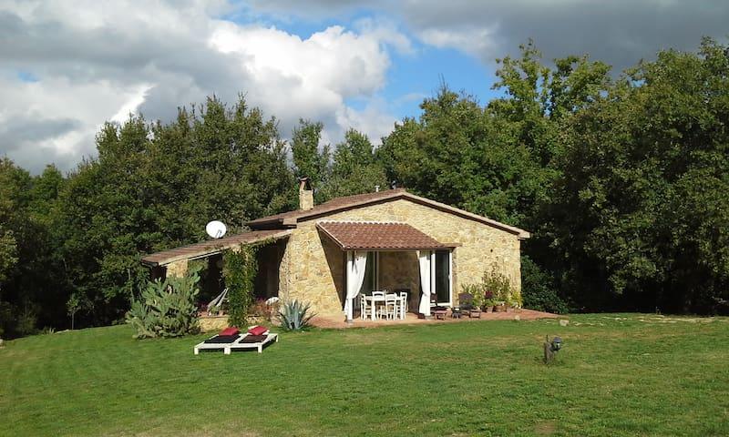 casa in pietra immersa nella natura - Montescudaio - Casa