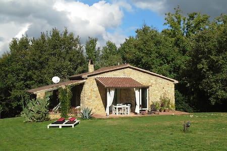 casa in pietra immersa nella natura - Montescudaio - Ev