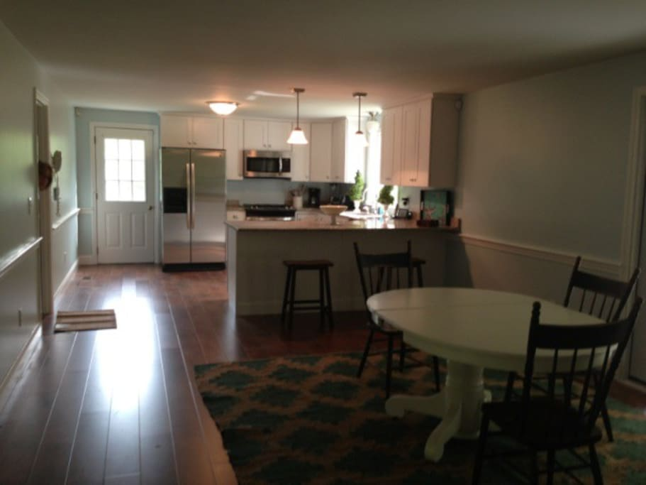 Large Eat In Kitchen Completely Renovated!