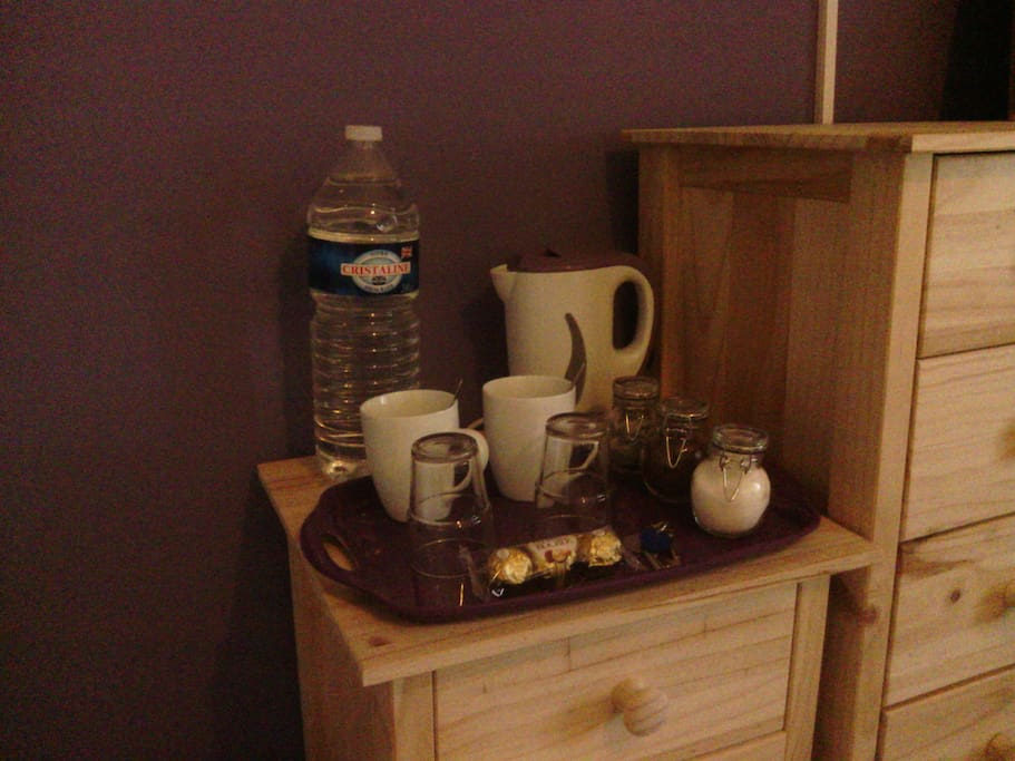 Tea and coffee facilities in room