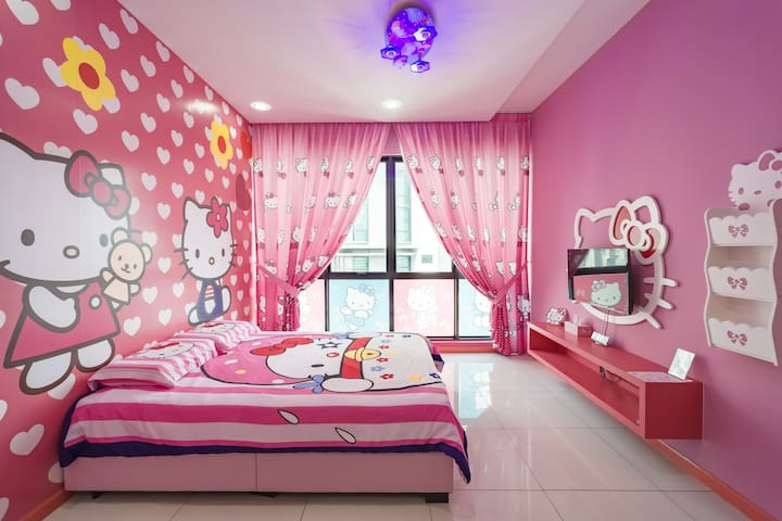 Fantasy Homestay@ East Ledang (Cartoon Theme)