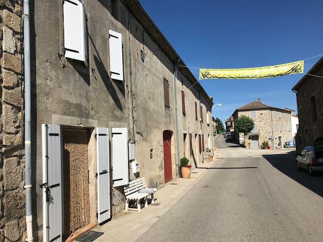 Maison de village ardéchoise
