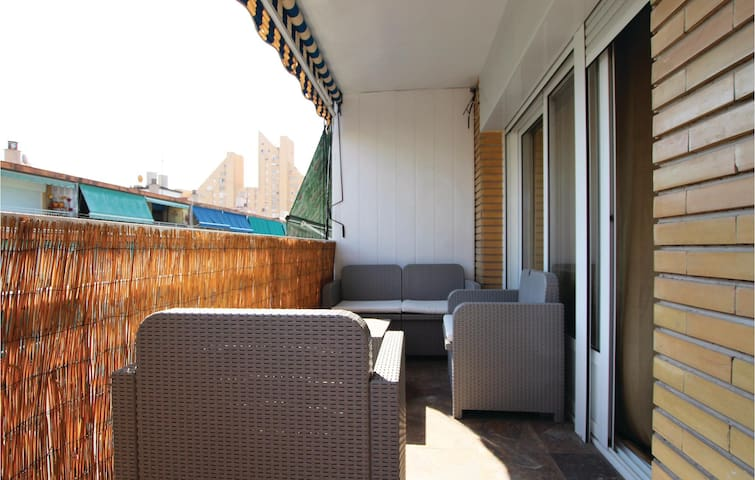 Holiday apartment with 2 bedrooms on 45m² in Alicante