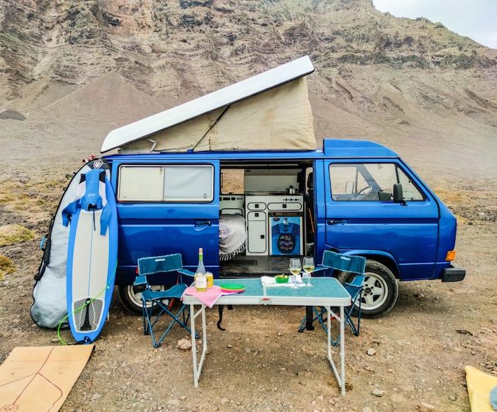 Famara Camper Vans Lanzarote | VW T3