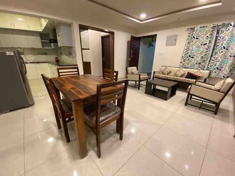 Fully furnished 3BHK home close to the sea