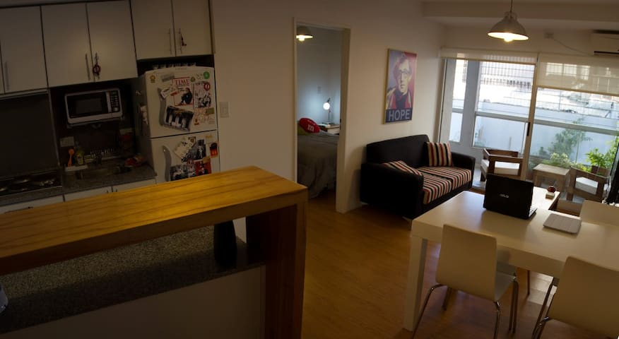 AWESOME new 1BR apt near Palermo