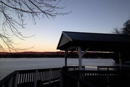 Private camp on lamoka Lake.