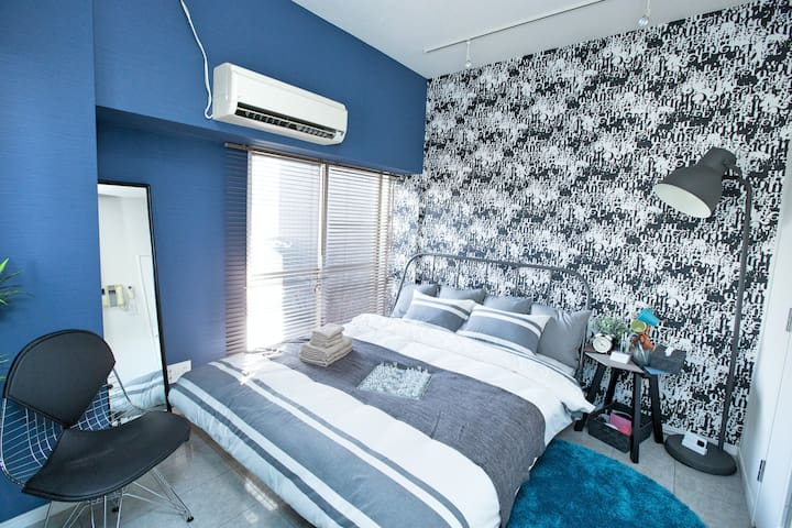 30 New open! SHIBUYA7min/wifi/MAX3 - Shinagawa-ku - Byt
