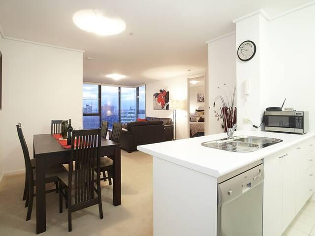 Gem Apts - 2 Bedroom City Beauty  - Southbank - Appartamento