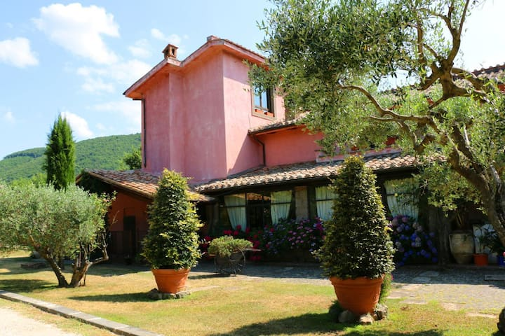 Camera  Doppia  in Casale d'Epoca - Bagnaia - Bed & Breakfast