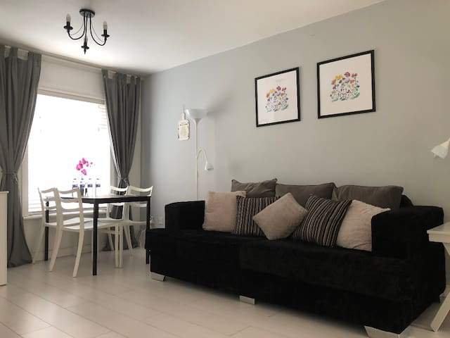 Modern 2 bed apartment in Belfast city centre.