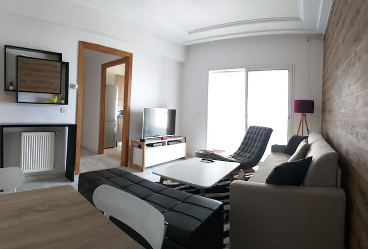 Cozy Apartment Jardins de Carthage
