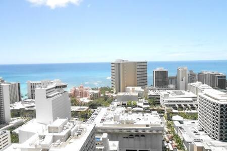 Family Suite 2/2 Ocean View 3405 - Honolulu - Apartment