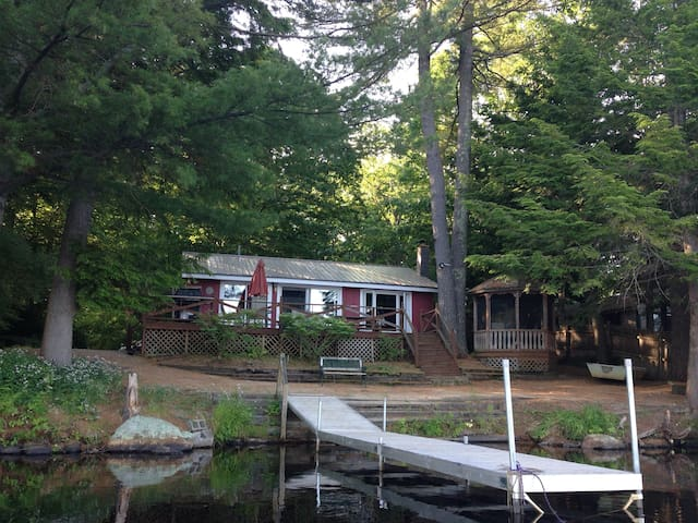 Maine Lakefront Cottage 90 Minutes From Boston! - 샌포드(Sanford) - 통나무집