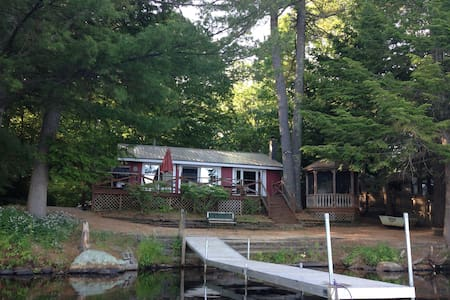 Maine Lakefront Cottage 90 Minutes From Boston! - Sanford - Cabana