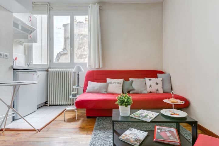 Charming Studio Paris Batignolles - mobility lease
