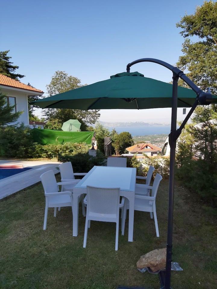 New Villa in Sapanca lake and mountain view