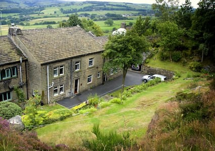 Warm comfortable barn cottage Ripponden Yorkshire - Barkisland - Haus