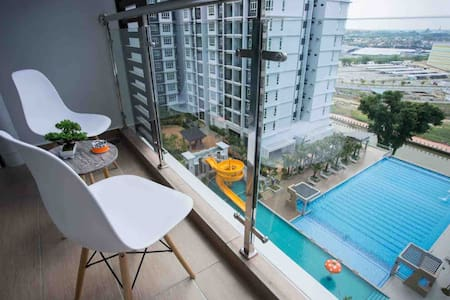 New condo inTown🌇 Parkland Residence🌇 10PaxSuite