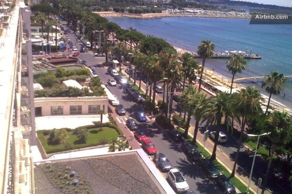 A VERY NICE VIEW CROISETTE BOULEVARD AND THE BEACHES