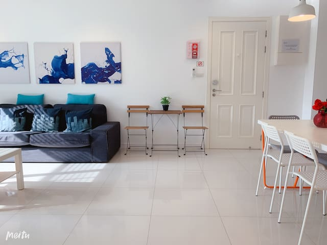 【Good Offer】Large 3 BDR near beach with 2 big pool