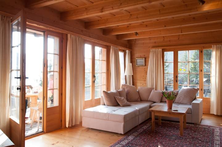 Chalet & terrasse sur les Gastlosen