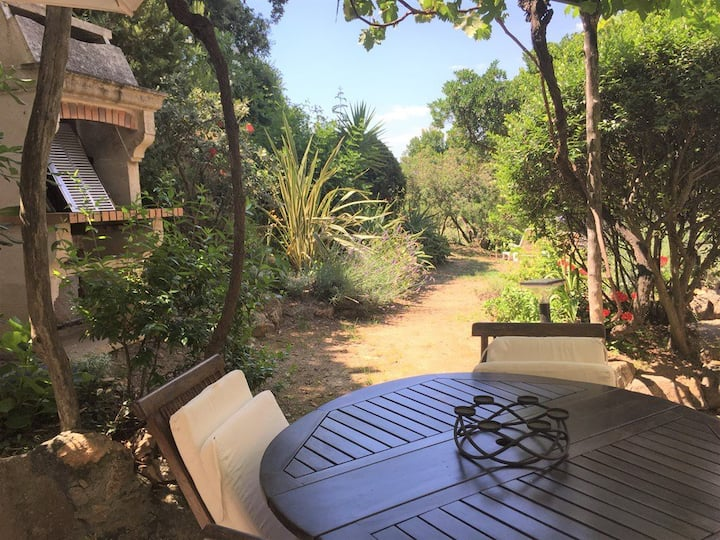 Propriano Location Agency : Beautiful T3 with garden and swimming pool