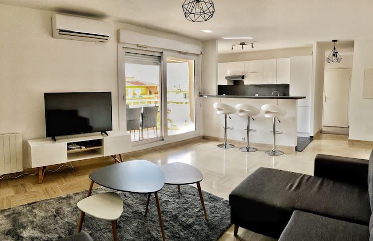 Modern apartment on the doorstep of Monaco