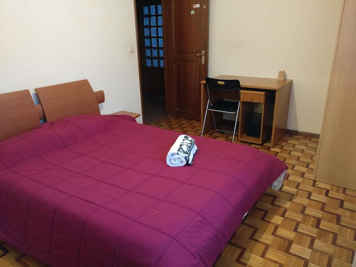 Double room near by UMinho in Braga Gualtar Campus