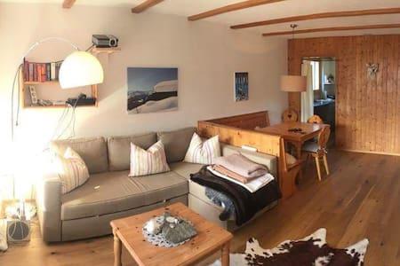 Alpen Chic und Bergsicht - Laax - Apartment