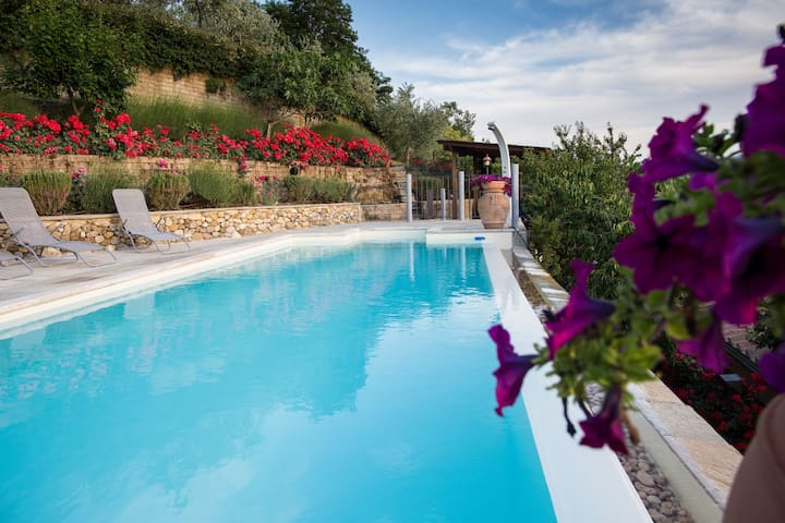 Swimming pool private and exclusive only for you  with music surround and shower
