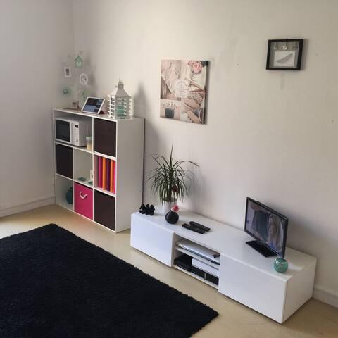 Studio Cosy avec Balcon