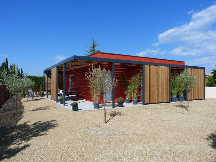 Les LODGES 1 (Villa avec Spa privatif) VALENSOLE