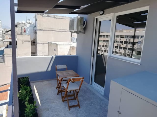 Athens downtown  rooftop loft #1