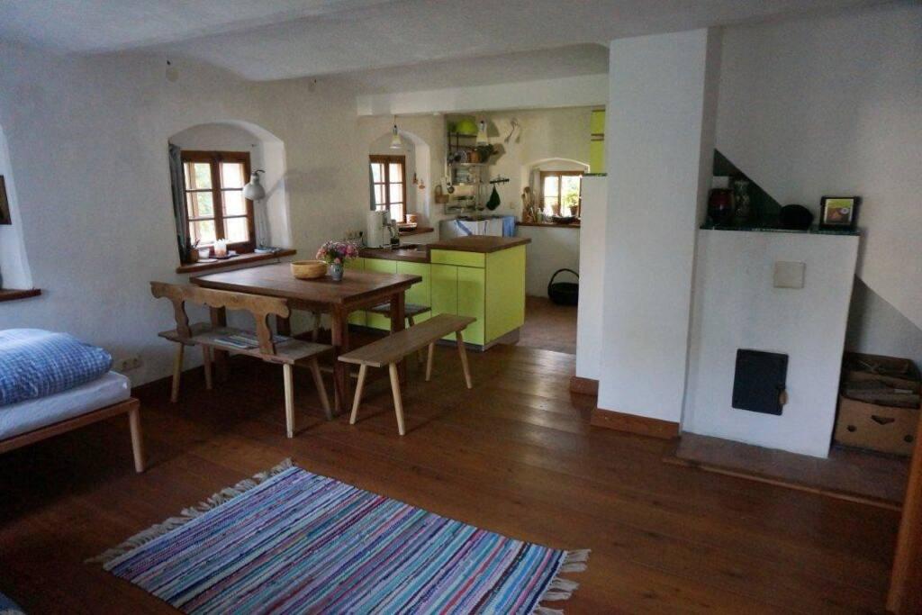 Küche/Esstisch