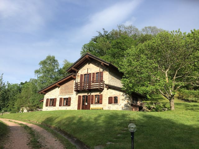 Studio apartment into the nature - Orino - Lägenhet