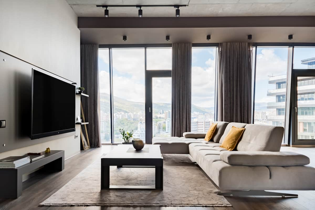 Regal Urban Minimalism in King David Condo