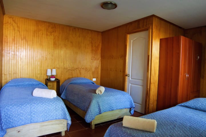 Central & beautiful room for 1-3 persons