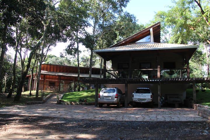 Bosque São Francisco - Chapada dos Guimarães - Blockhütte