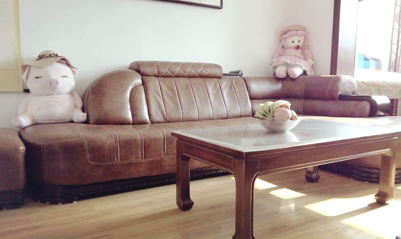 近海精装修公寓 带阁楼 靠近老市中心 apt near seaside with loft - Qingdao Shi - Apartamento