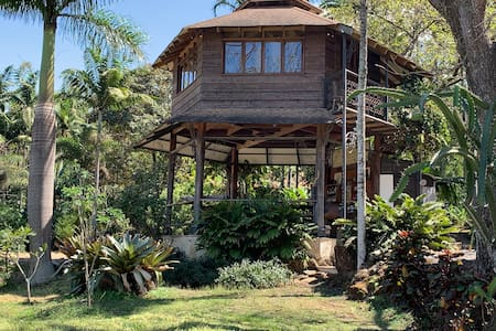 TreeHouse in Botanical Garden by SJO Airport