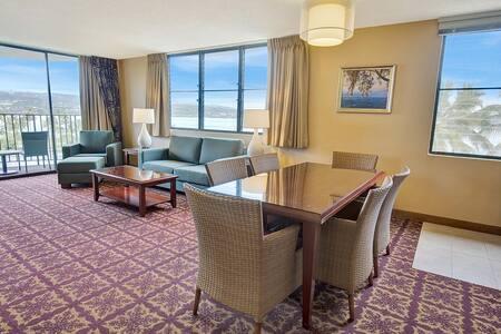 1 Bedroom Corner Suite w/Ocean View - #750