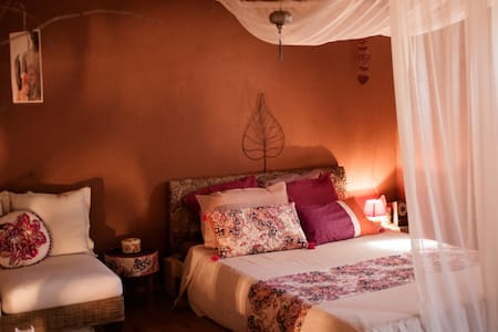 L'Ecolodge, chambre nature - Caragoudes - Bed & Breakfast