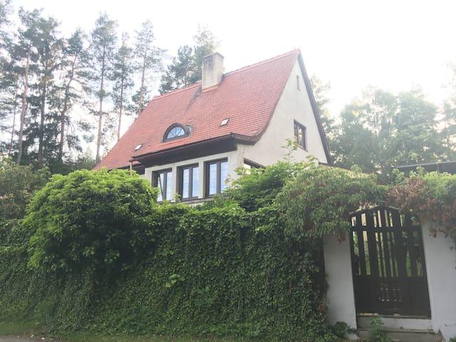 Černá Louže dům s krásným a klidným prostředím