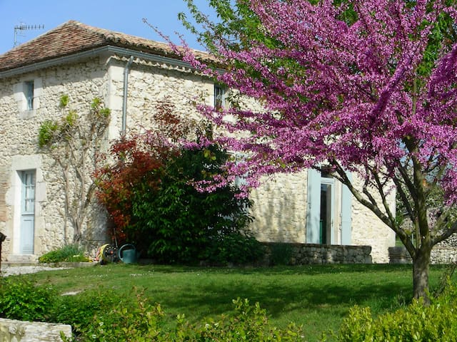 Charming stone house in a hamlet 2 - Plaisance - Talo