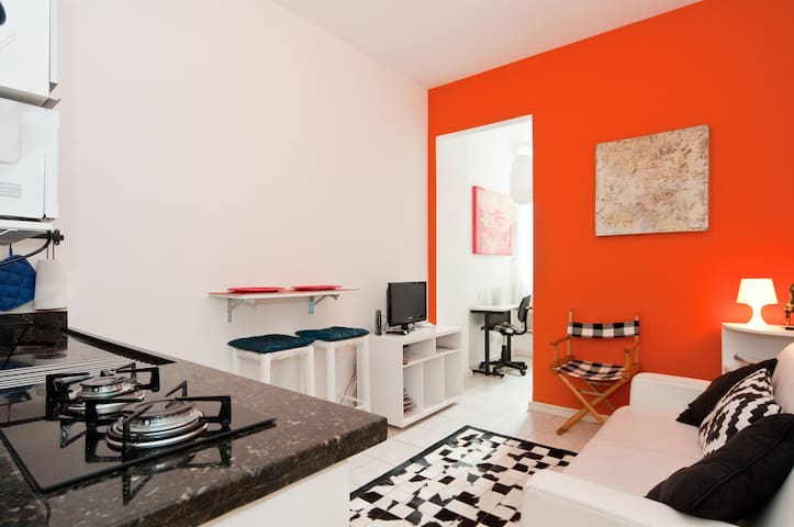 Design apt Ipanema. 1 or 2 bedrooms