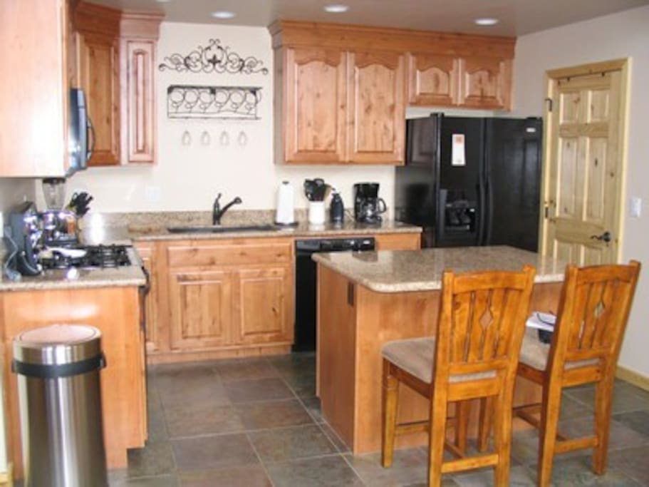 Full kitchen with all the appliances
