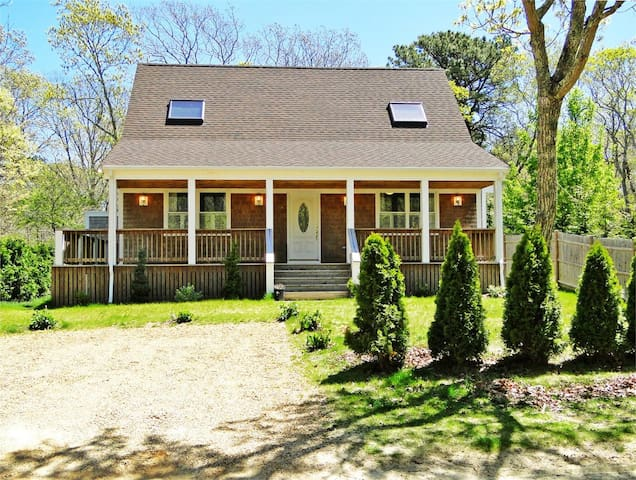 NEWLY CONSTRUCTED HOME IN EDGARTOWN WITH A/C