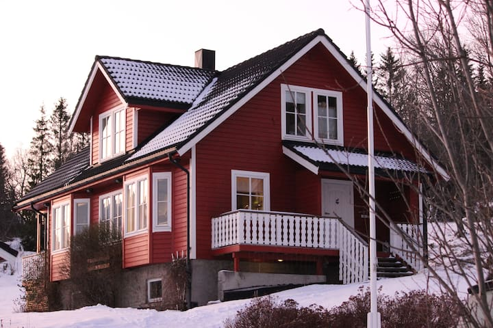 Apartment close to beautiful Hella! - Tromsø - Apartamento
