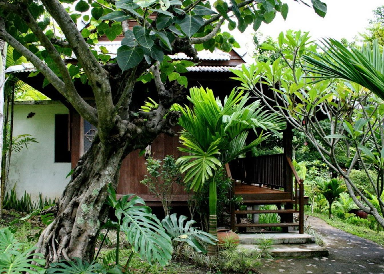 Villa Ylang Ylang, our most private villa, set in beautiful tropical gardens